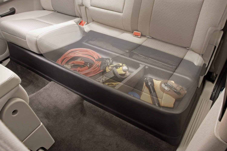 NO7RUBAN Under Seat Storage Box Fits 2007-2013 Chevy Silverado GMC Sierra Crew Cab Toolboxes