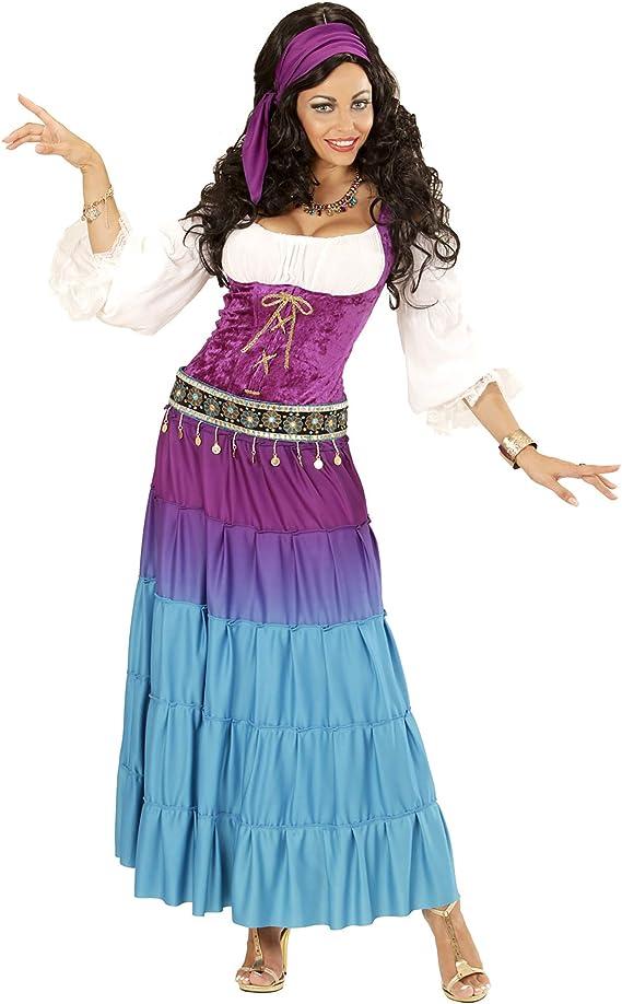 Disfraz de gitana bailarina para mujer talla grande - XL , color ...