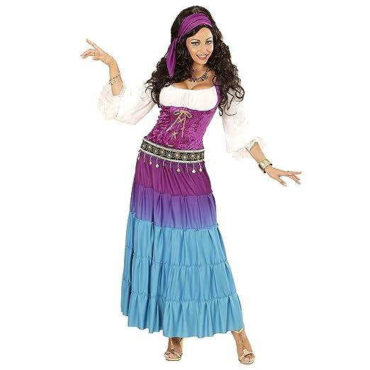 widmann-wdm67733 disfraz Adulto mujer, Rosa Azul, wdm67733: Amazon ...