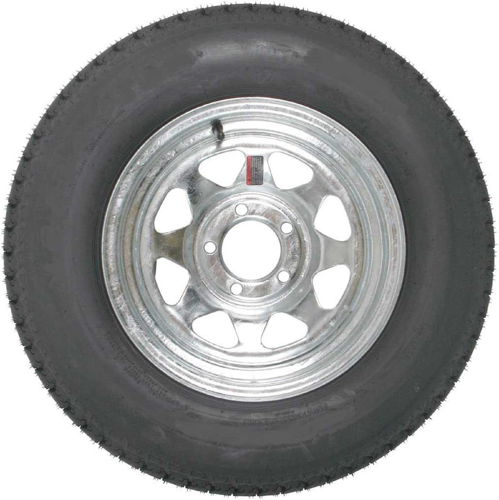 14 Inch Tires >> 14 Inch Galvanized Spoke Trailer Wheel And 215 75r14 Radial Special Trailer Tire Assembly