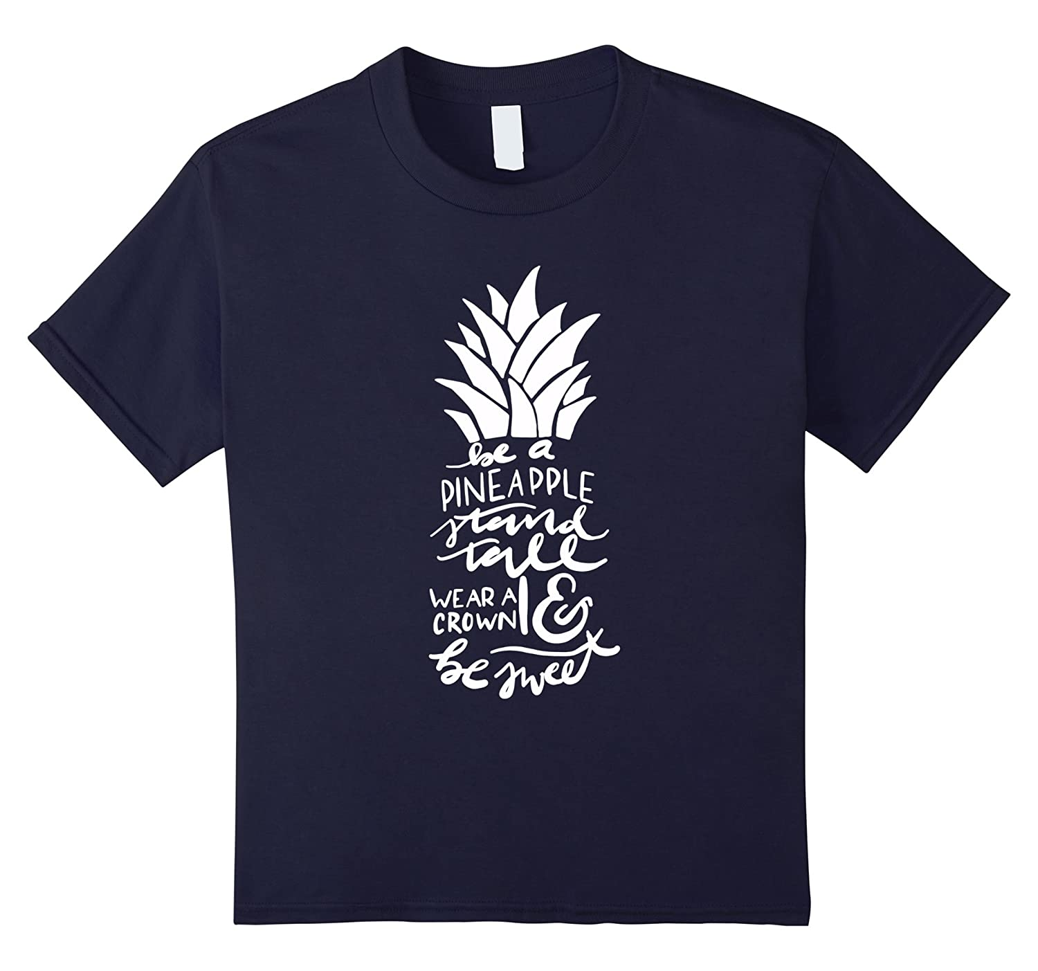 Womens Be Pineapple T Shirt Small-Tovacu