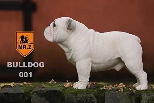 English Bulldog Sculpture Hand-made and painted Pet Portrait Dog Statue Figurine Memorial English Bulldog Collectibles English Bulldog Art 001