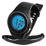 Cardiofréquencemètre/Podomètre exercice 30 ~240bpm ceinture Fat compteur de calories numérique Montre de sport de Fitness de randonnée