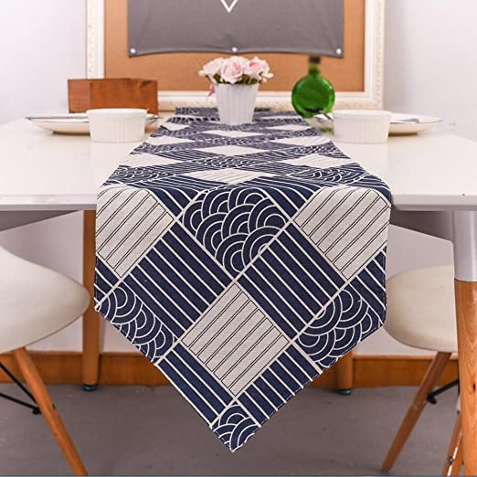 Tapetes para la mesa camino de mesa abstracto hecho a mano ...