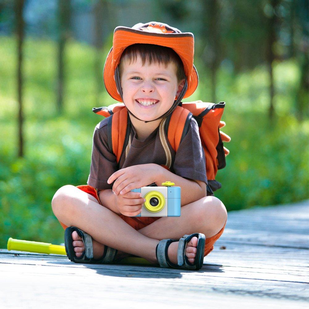 CamKing Kids Children's Camera, 1.5 Inch Screen Mini Digital Camera (Blue) by CamKing (Image #9)