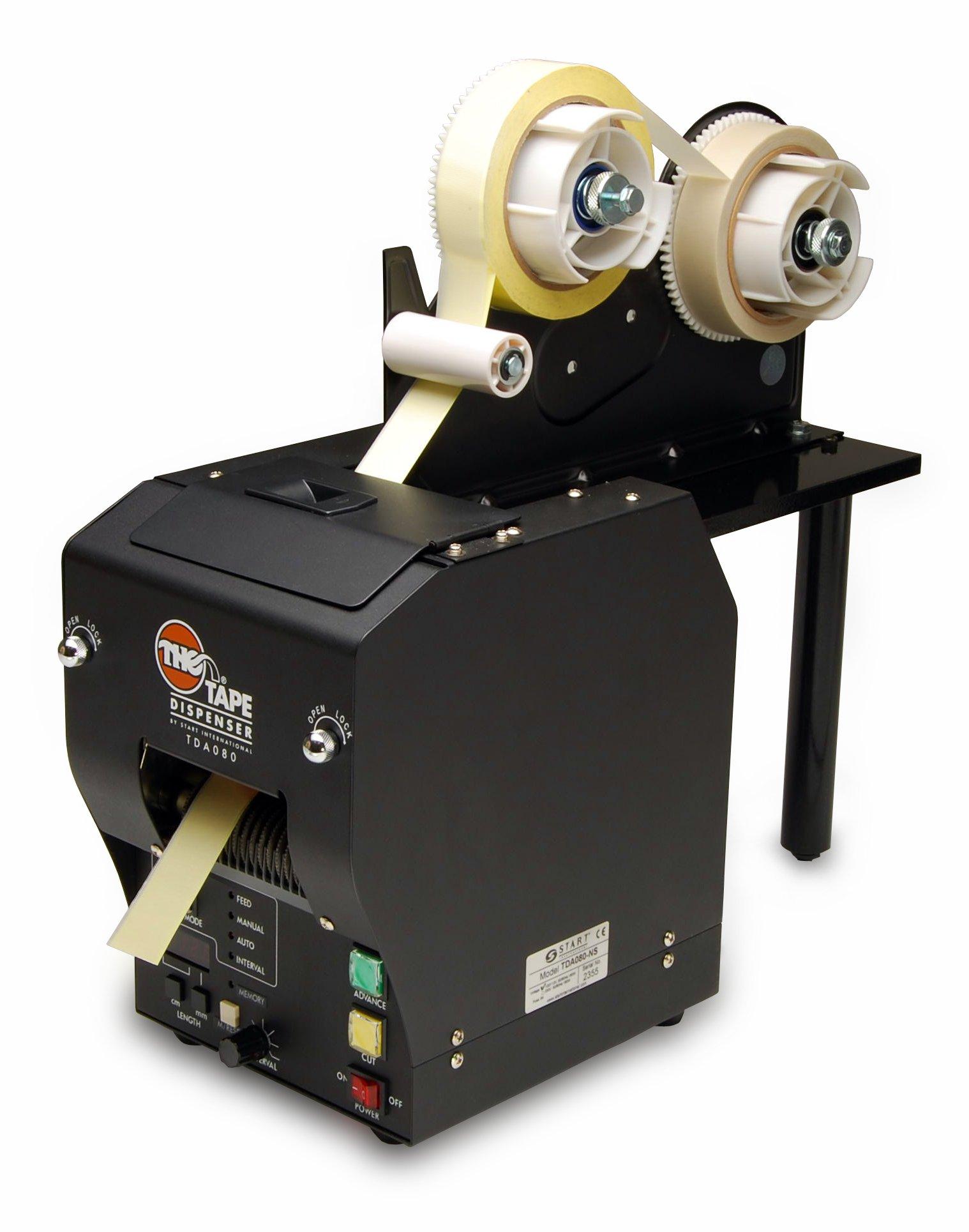 START International TDA080-LAM Electronic Heavy Duty Tape Dispenser with Laminator Feature