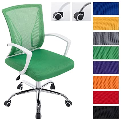CLP silla de oficina TRACY, ajustable en altura 45 - 55 cm, silla ...