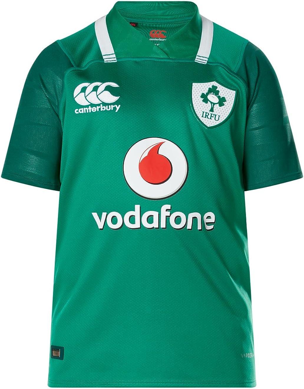 Canterbury Ireland Rugby Vapodri+ SS Kids Home Pro Jersey 2017