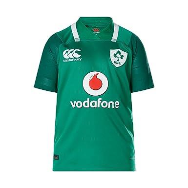 Canterbury Ireland Official 17/18 Kids Short Sleeve Home Pro Jersey,  Boshorous