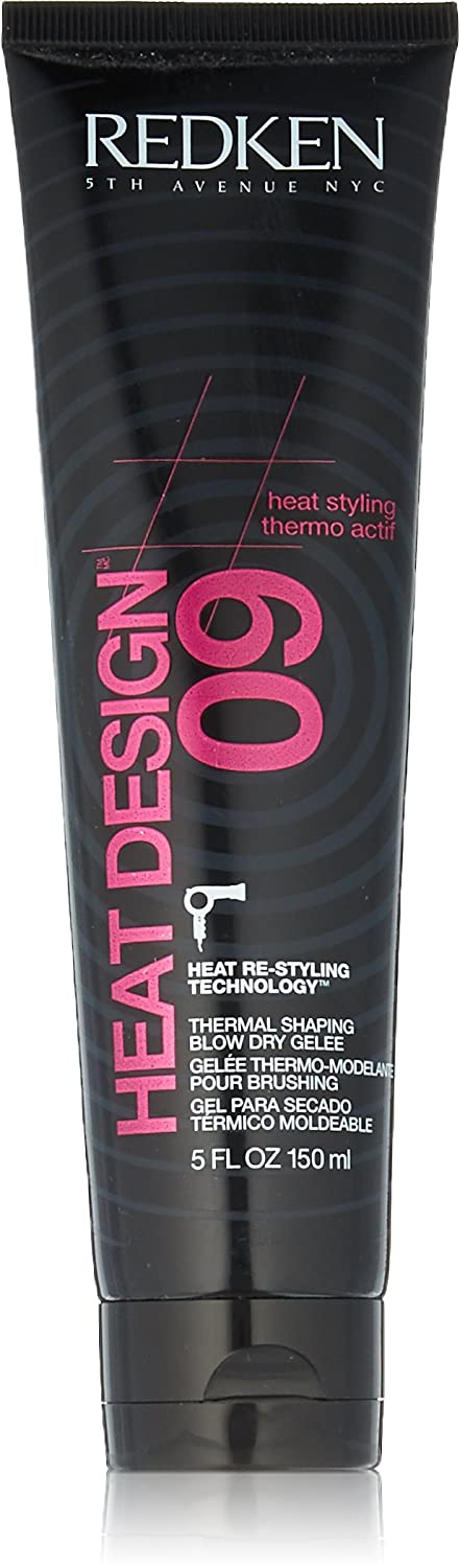 Redken Heat Design 09 Thermal Shaping Blow Dry Gelee, 5 Ounce PerfumeWorldWide Inc. U-HC-11516