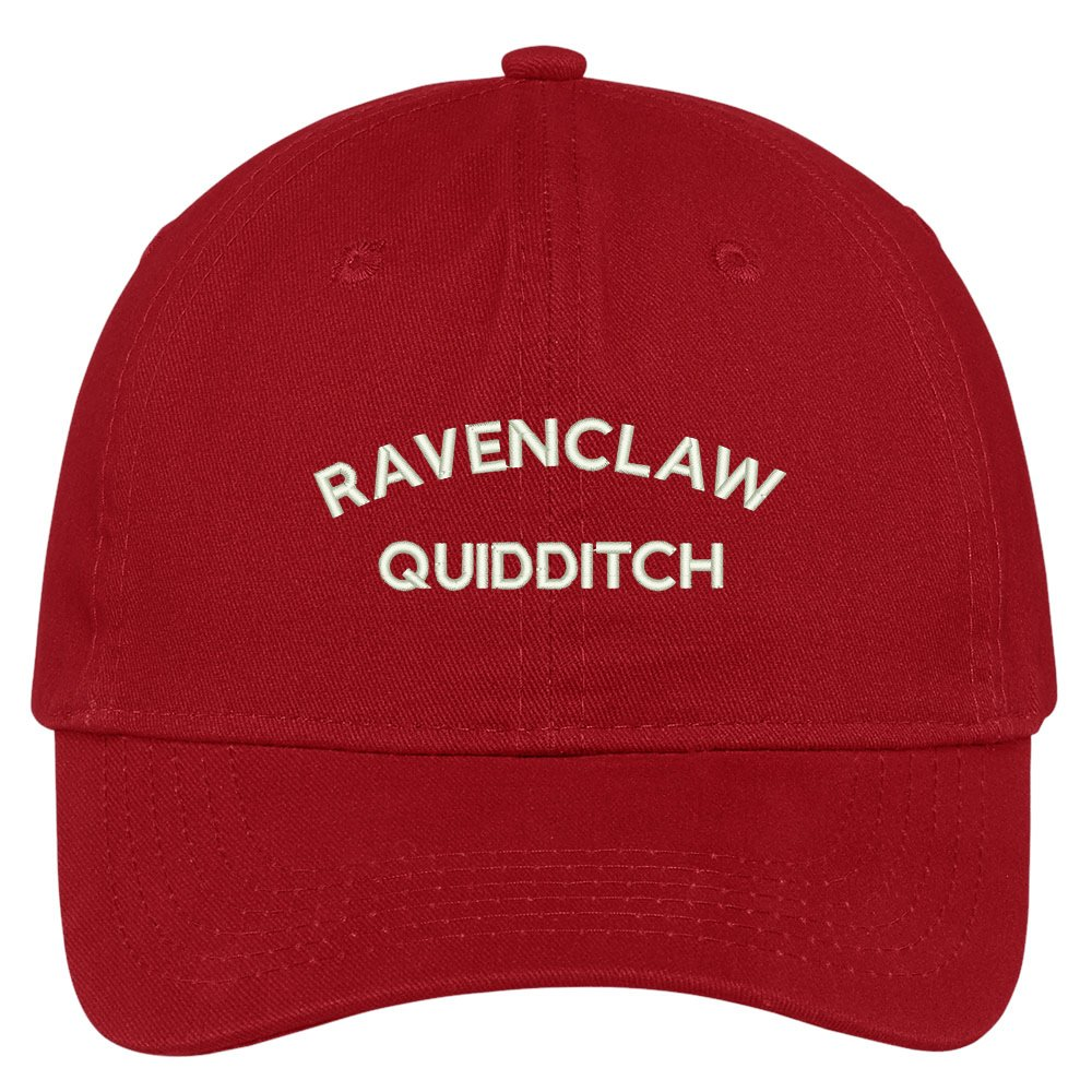d7f9619ba Trendy Apparel Shop Ravenclaw Quidditch Embroidered Soft Cotton Adjustable  Cap Dad Hat - Black at Amazon Women's Clothing store: