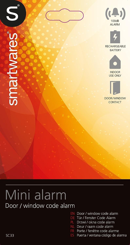 Smartwares 10.023.30 Alarma de Ventana y Puerta, Blanco ...