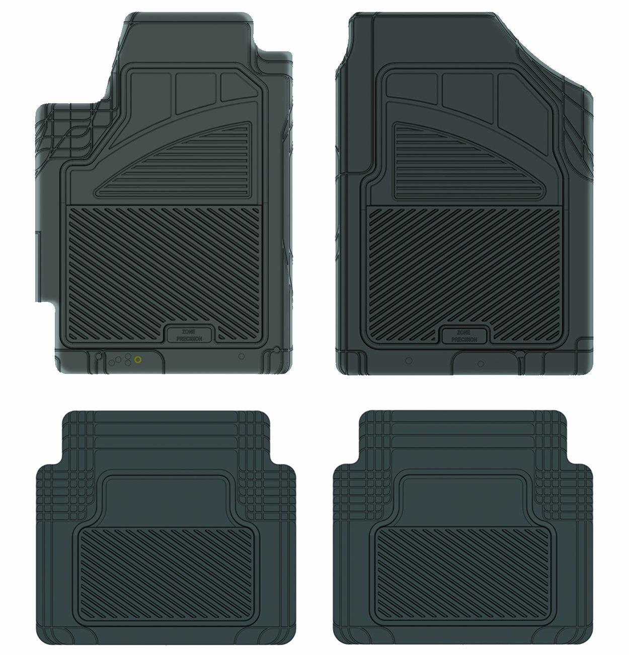 Grey Koolatron Pants Saver Custom Fit 4 Piece All Weather Car Mat for Select Nissan Altima Models