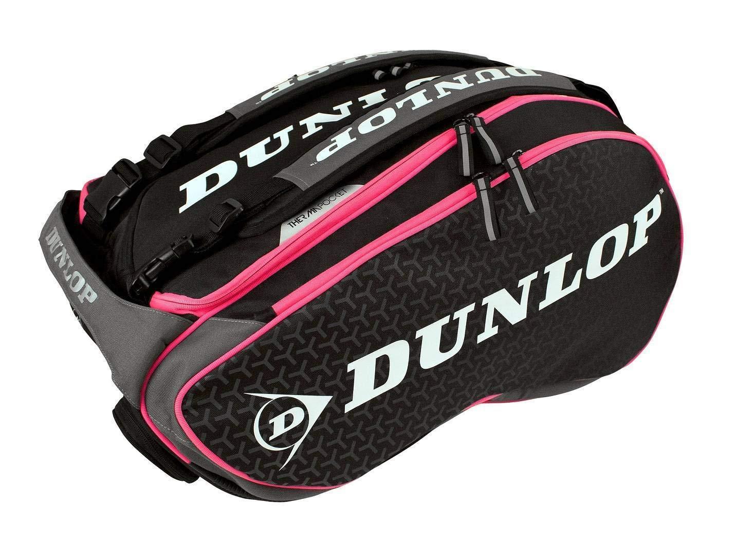 Dunlop Paletero Elite negro rosa: Amazon.es: Deportes y aire libre