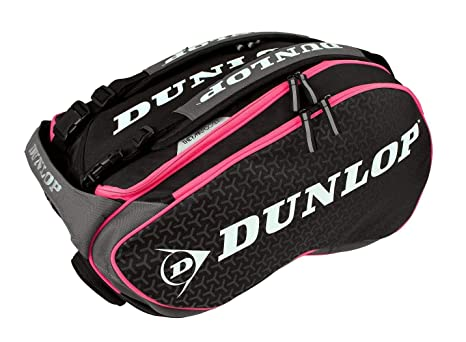 Dunlop Paletero Elite negro rosa: Amazon.es: Deportes y aire ...