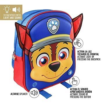 Cerdá La Patrulla Canina Mochila Infantil, 32 cm, Azul: Amazon.es: Equipaje