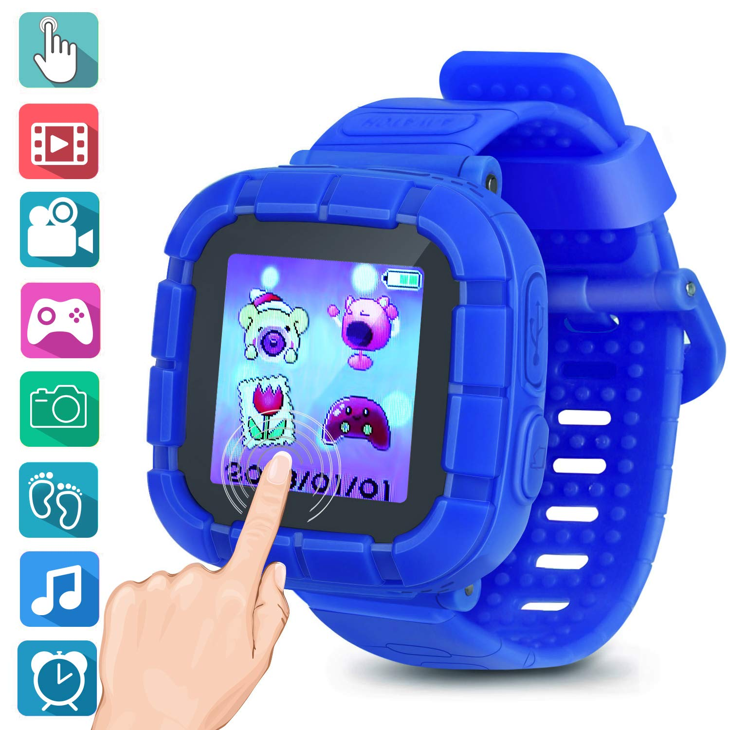 Kids smartwatch Game Watches Touch Screen Camera Video Recorder Watch for Boys Girls Children Gifts