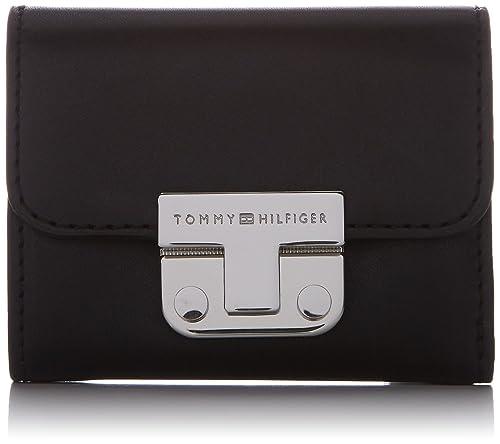 Womens Fashion Hardware Small Flap Wallet Purse Tommy Hilfiger a6jxW