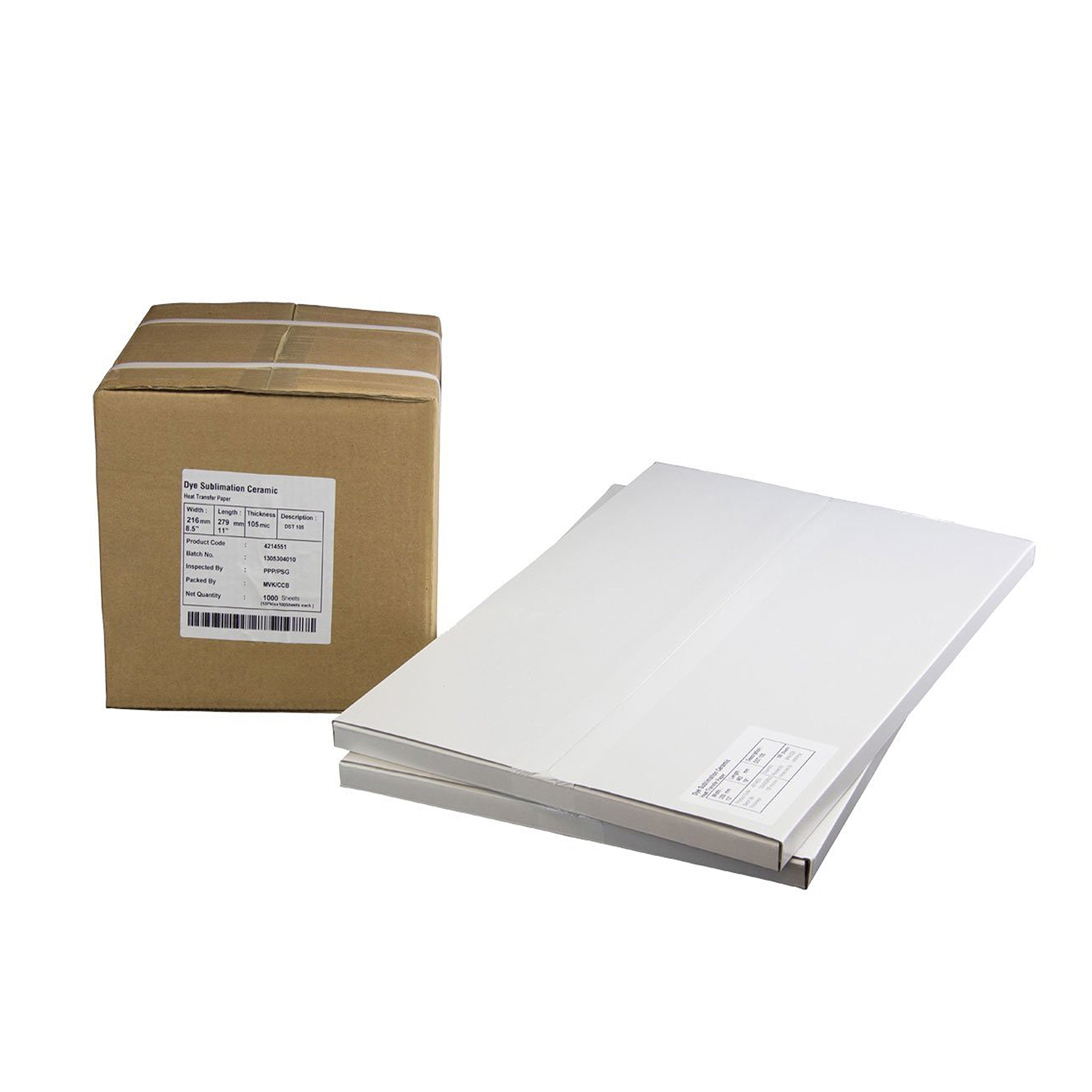 8.5 x 14 Pinnacle Dye Sublimation Paper, 105 gsm, 100 Sheets