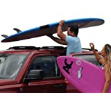 DORSAL Wrap-Rax Surfboard Roof Rack, Universal Fit for Cars and SUVs