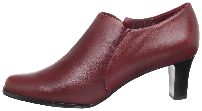 Trotters Women's Jolie Ankle Boot B004NN00I2 11 B(M) US|Dark Red