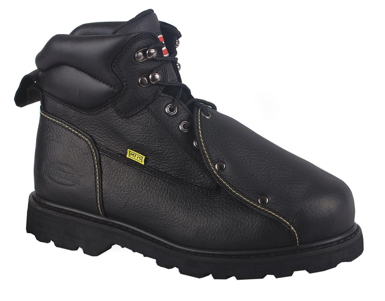 STL Toe Work Boots 13 PR Met Guard