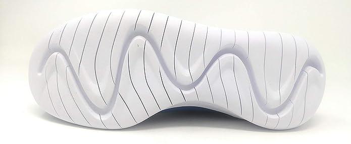 87499f4a64 Amazon.com | NIKE Hakata (GS) Gym Blue/White-Black | Running