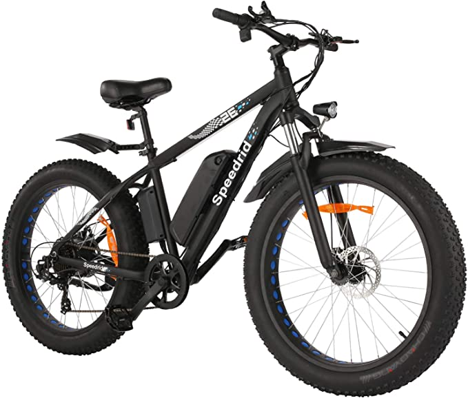 Speedrid Folding Electric Bicycle E-Bike Scooter 350W Powerful Motor Waterproof Ebike Electric Urban City Bike APP Control