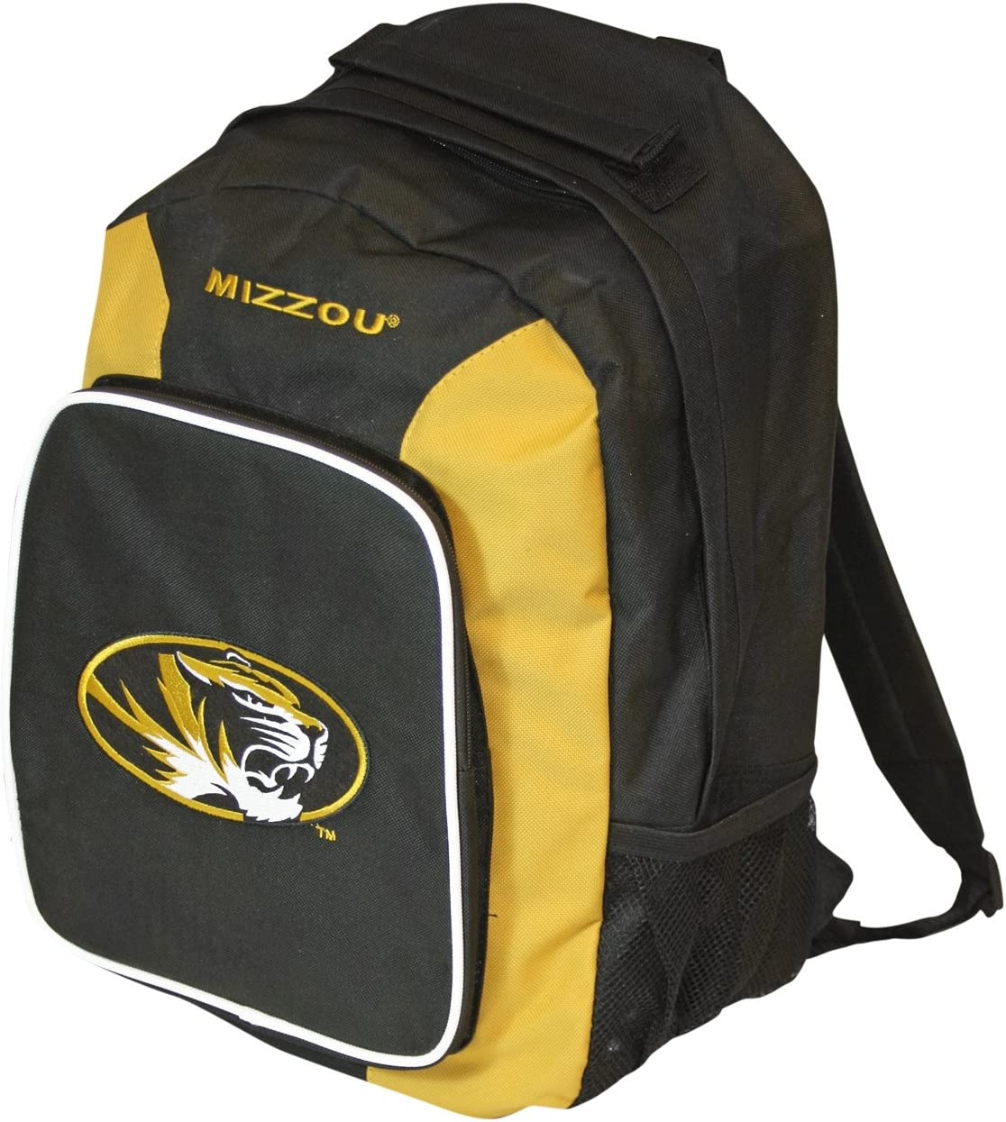 Missouri Tigers Backpack Southpaw Style Wheat : Sports Fan Backpacks : Sports & Outdoors