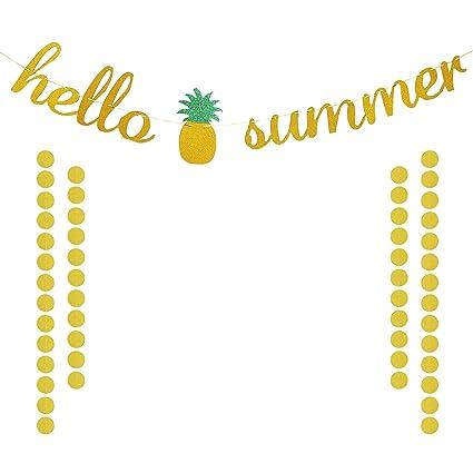 Summer banner. Amazon com hello gold