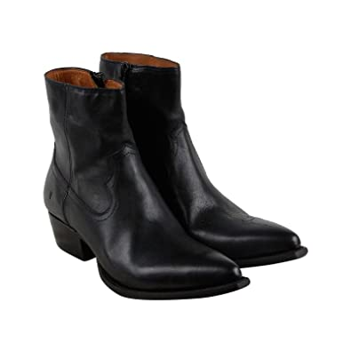 Frye Lou Zip Leather Boot