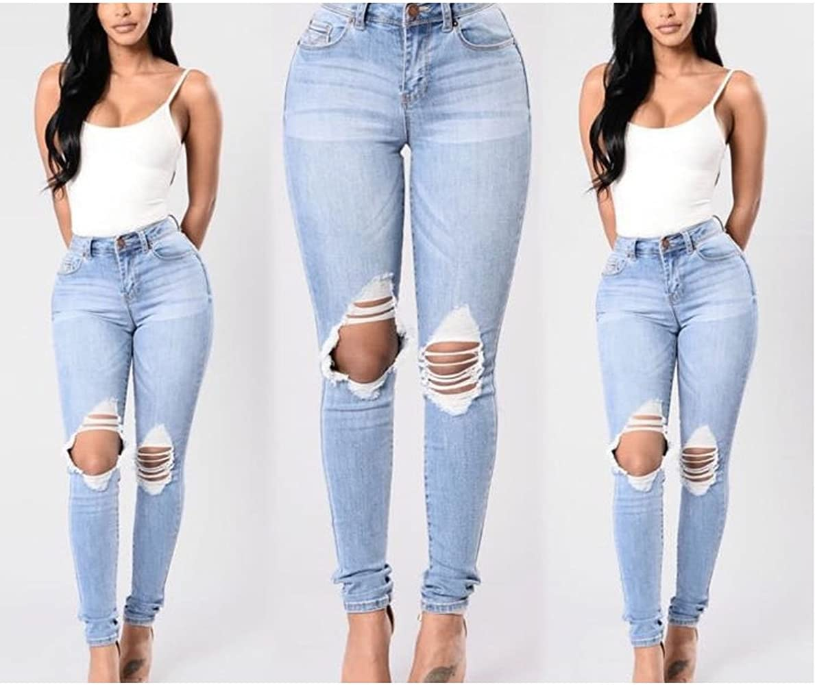 Pantalones Rasgados Mujer Tienda Online De Zapatos Ropa Y Complementos De Marca