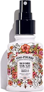 Poo-Pourri Before-You-Go Toilet Spray, Tropical Hibiscus Scent, 2 oz