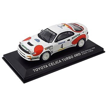 Réplica de coche Toyota Celica Turbo 4WD - Rally Catalunya 1992 (1:43)