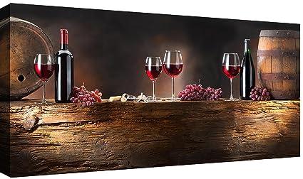 Canvashop Quadri Moderni Stampa su tela Canvas Vino Enoteca ...