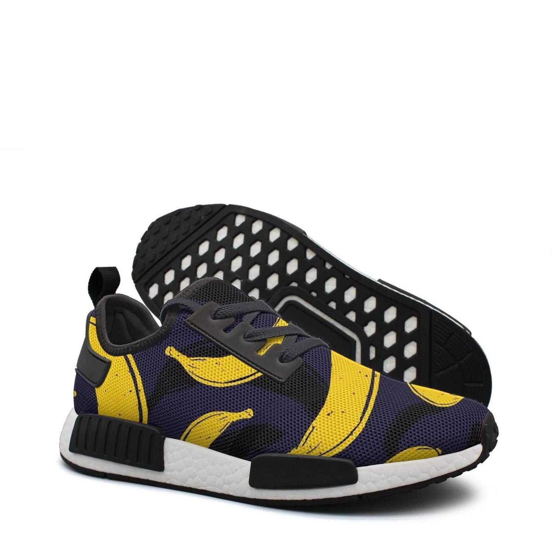 info for 9e247 39285 Amazon.com: Pop art banana black pattern 80s running shoes ...