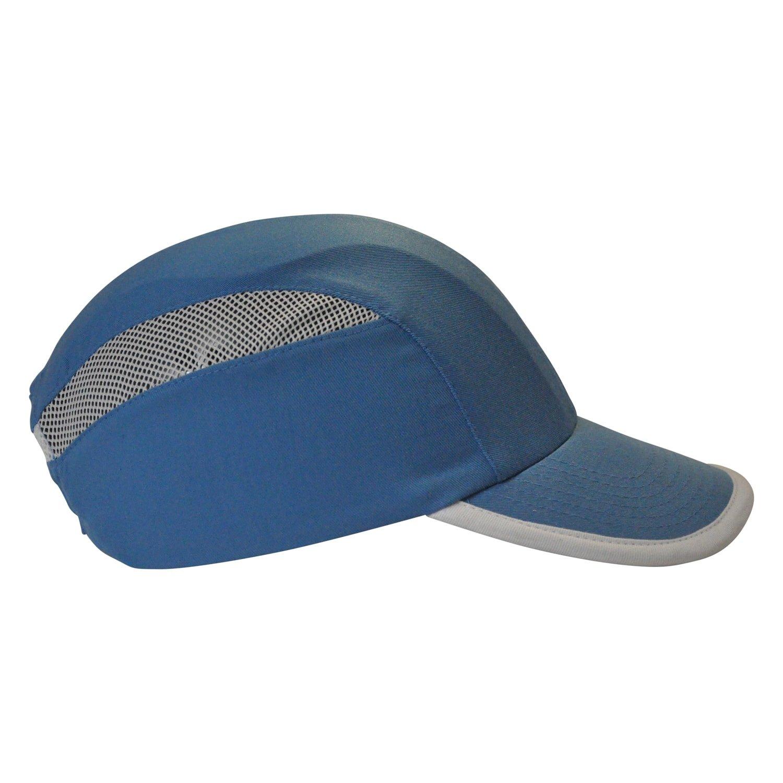 Casquette anti-heurt/Bouchon de sécurité avec coque abs & Ventilation, bleu Viwanda