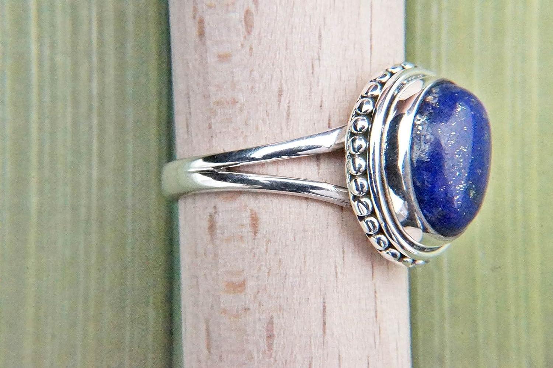 No: MRI 76 Bague argent 925 sterling avec lapis lazuli