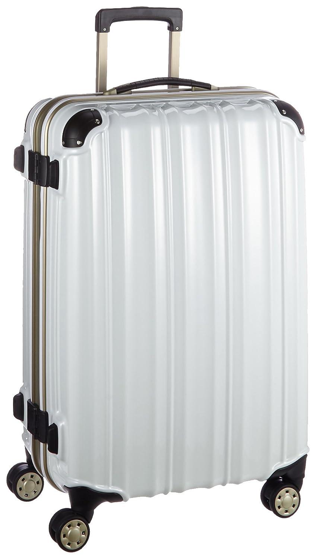 (ビータス) Beatas スーツケース TSAロック軽量アルミフレーム ビータスBH-F2000【一年修理保証】SUITCASE B00PV8CB0I S|鏡面パールホワイト 鏡面パールホワイト S