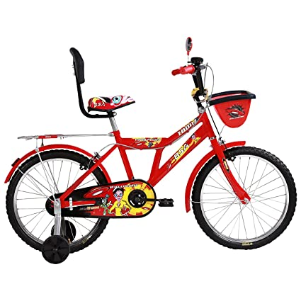 67f40b9c5852b Buy BSA Champ Toonz 16 Inch Bicycle (Red) Online at Low Prices in India -  Amazon.in