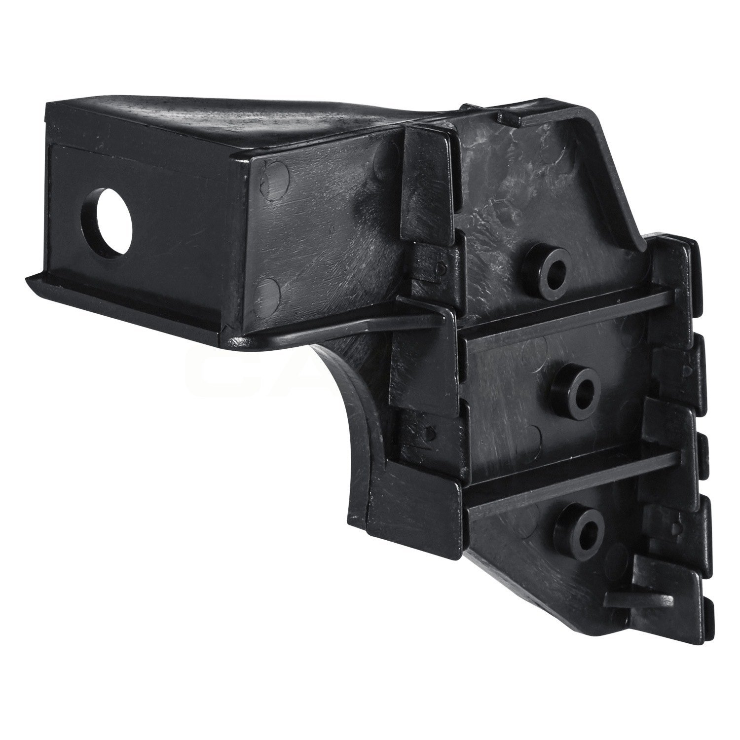 DAT 98-00 TOYOTA TACOMA WITH PRERUNNER BLACK FRONT BUMPER BRACKET LEFT DRIVER SIDE TO1042104 DAT AUTO PARTS