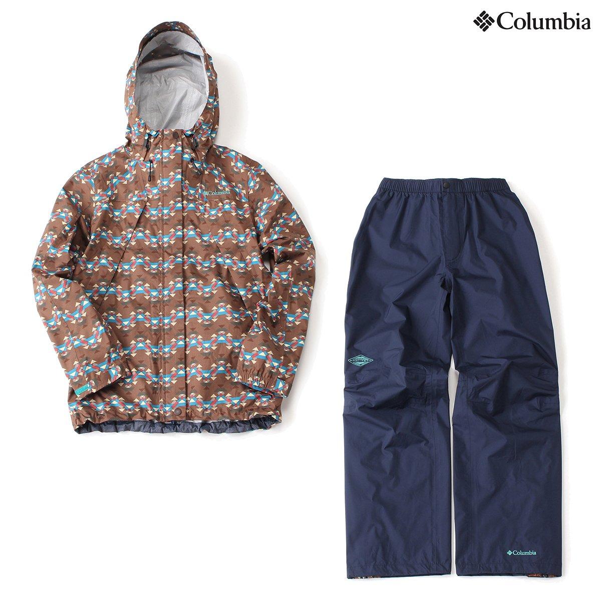 コロンビア エメラルドテライン Ⅲ ウィメンズレインスーツ