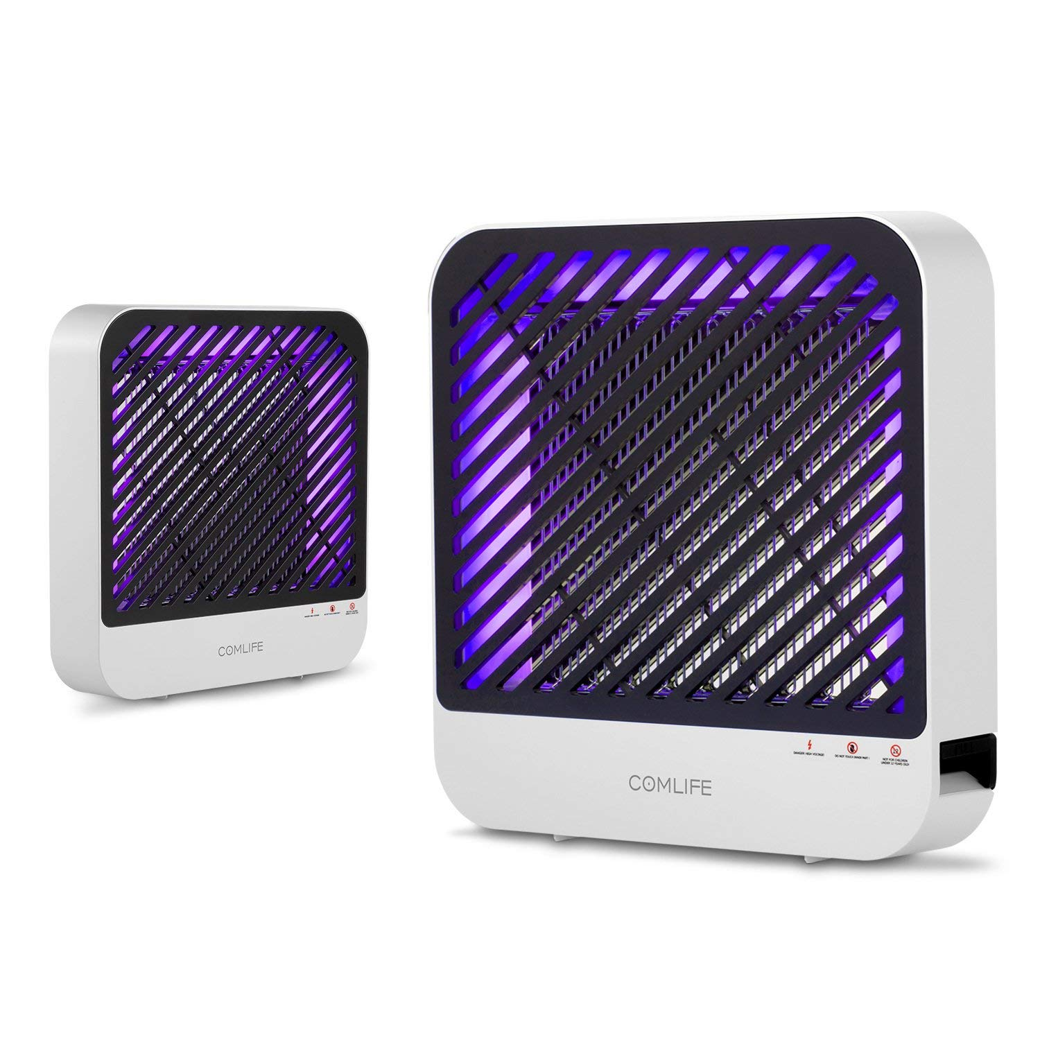 COMLIFE Bug Zapper & Electric Indoor Insect Killer, UV LED Light Fly Zapper, Mosquito Killer, Nontoxic Indoor Fly Catcher, Insect Trap Lamp, for Residential, Commercial and Industrial Use