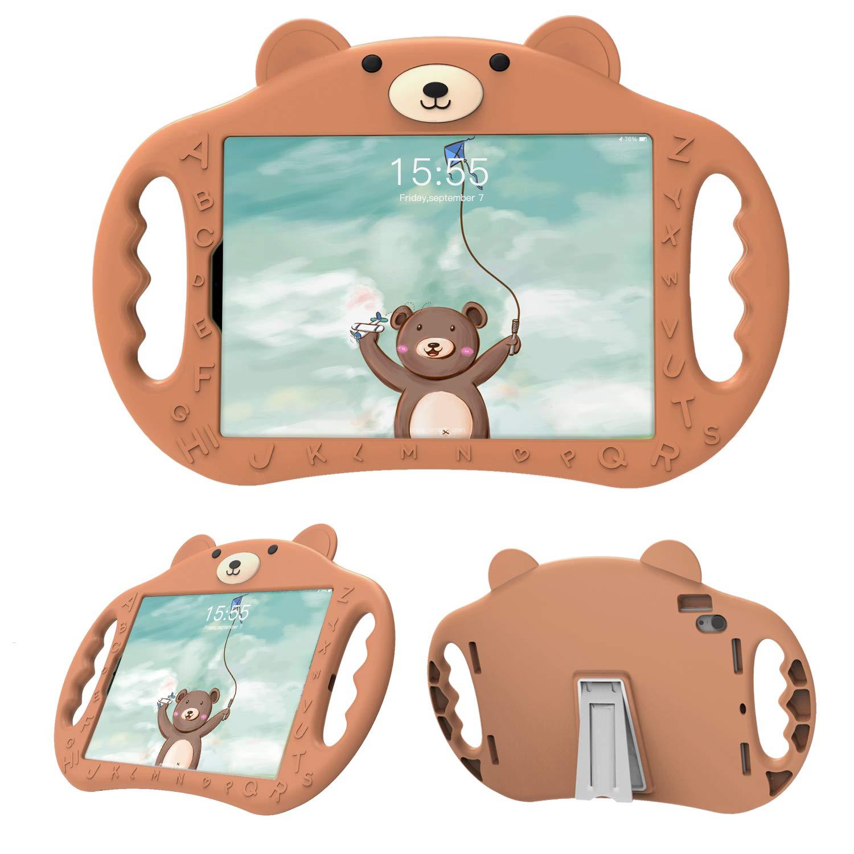 【即日発送】 pzoz B07KZCDDMK iPad Pro 11用ケース A1979用 キッズ用 耐衝撃性 シリコンハンドルスタンドカバー iPad iPad Pro 11インチ 2018 A1980 A2013 A1934 A1979用 pzoz-IP11 ブラウン B07KZCDDMK, マリン用品の阪栄商会:b5de7137 --- a0267596.xsph.ru