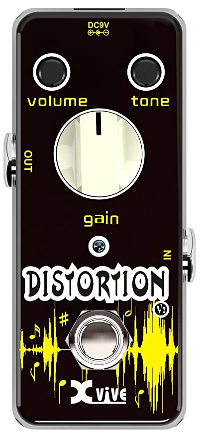 Amazon.com: XVive V2 Distortion Guitar Effects Pedal: Musical Instruments