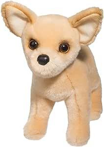 """Douglas Cuddle Toys Carlos Chihuahua Plush Dog 10"""" L"""