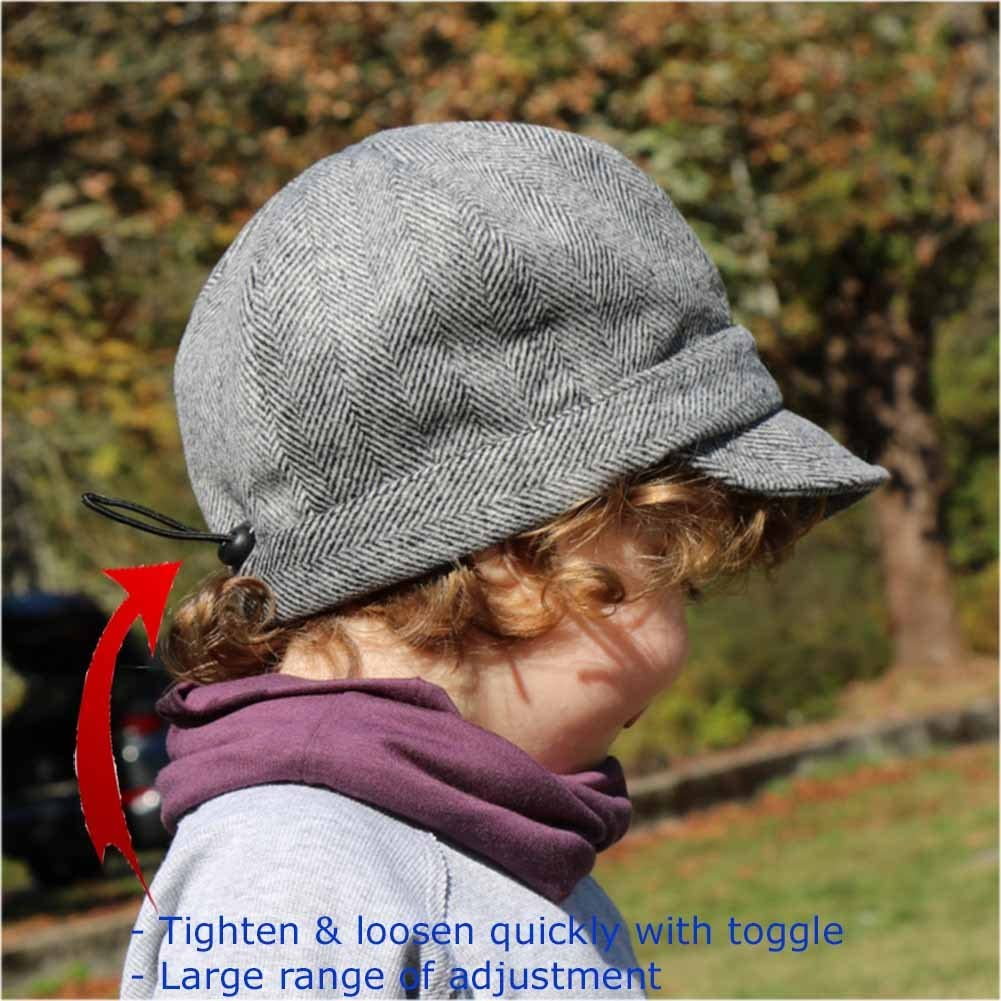 Twinklebelle Best Adjustable Baby Toddle Kids Newsboy Hat for Fall Spring