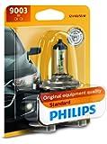 Philips 9003B1 Standard Halogen Replacement Headlight Bulb, 1 Pack