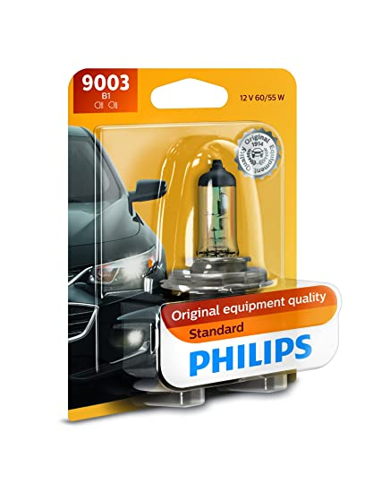 Amazon Com Philips 9003b1 Standard Halogen Replacement Headlight