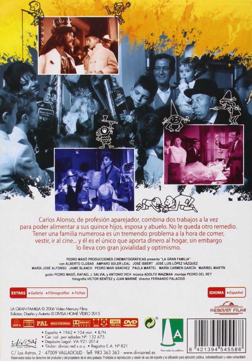 La gran familia [DVD]: Amazon.es: Alberto Closas, Jose Luis ...